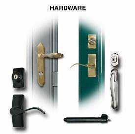 ProVia Hardware Options for Storm Doors