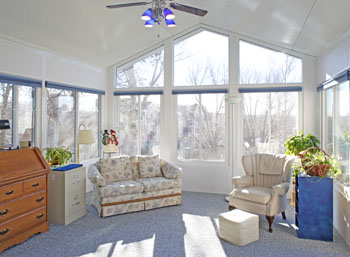 Sunrooms Go Up Quickly