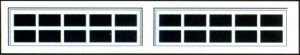 10 pane stockton available in 2 or 4 panels